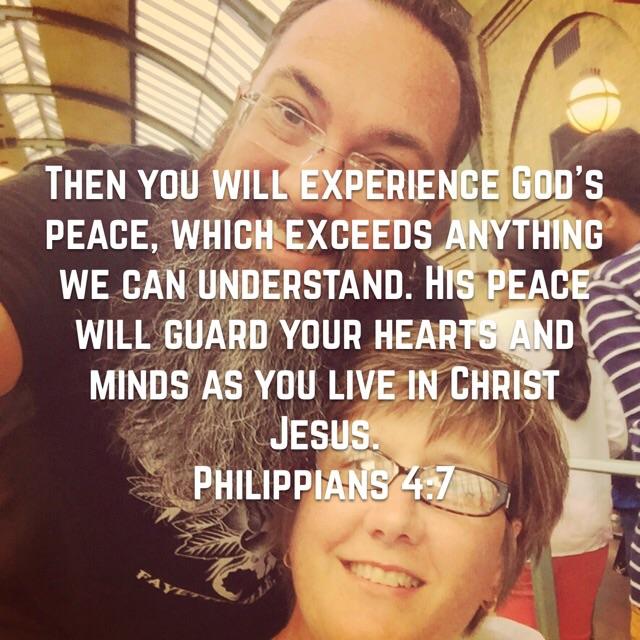 Peace that surpasses