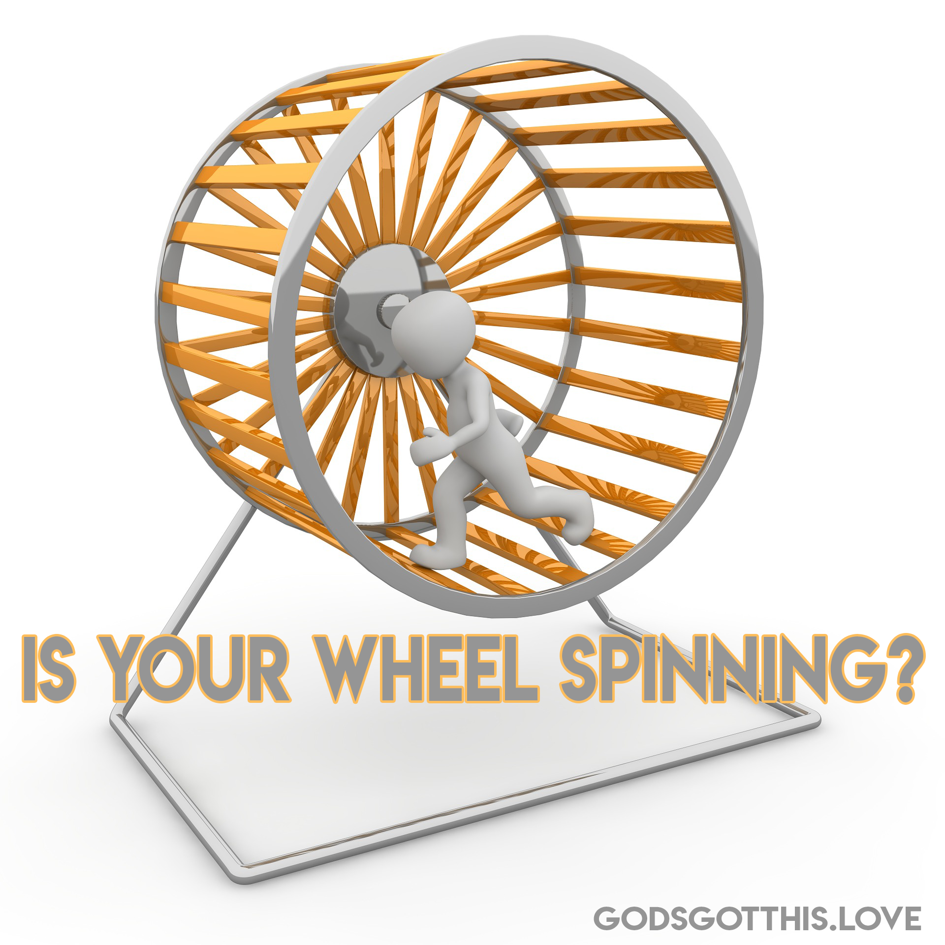 3 Ways To Get Moving When Your Wheel Is Spinning