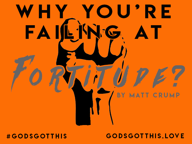 Why You're Failing At Fortitude.