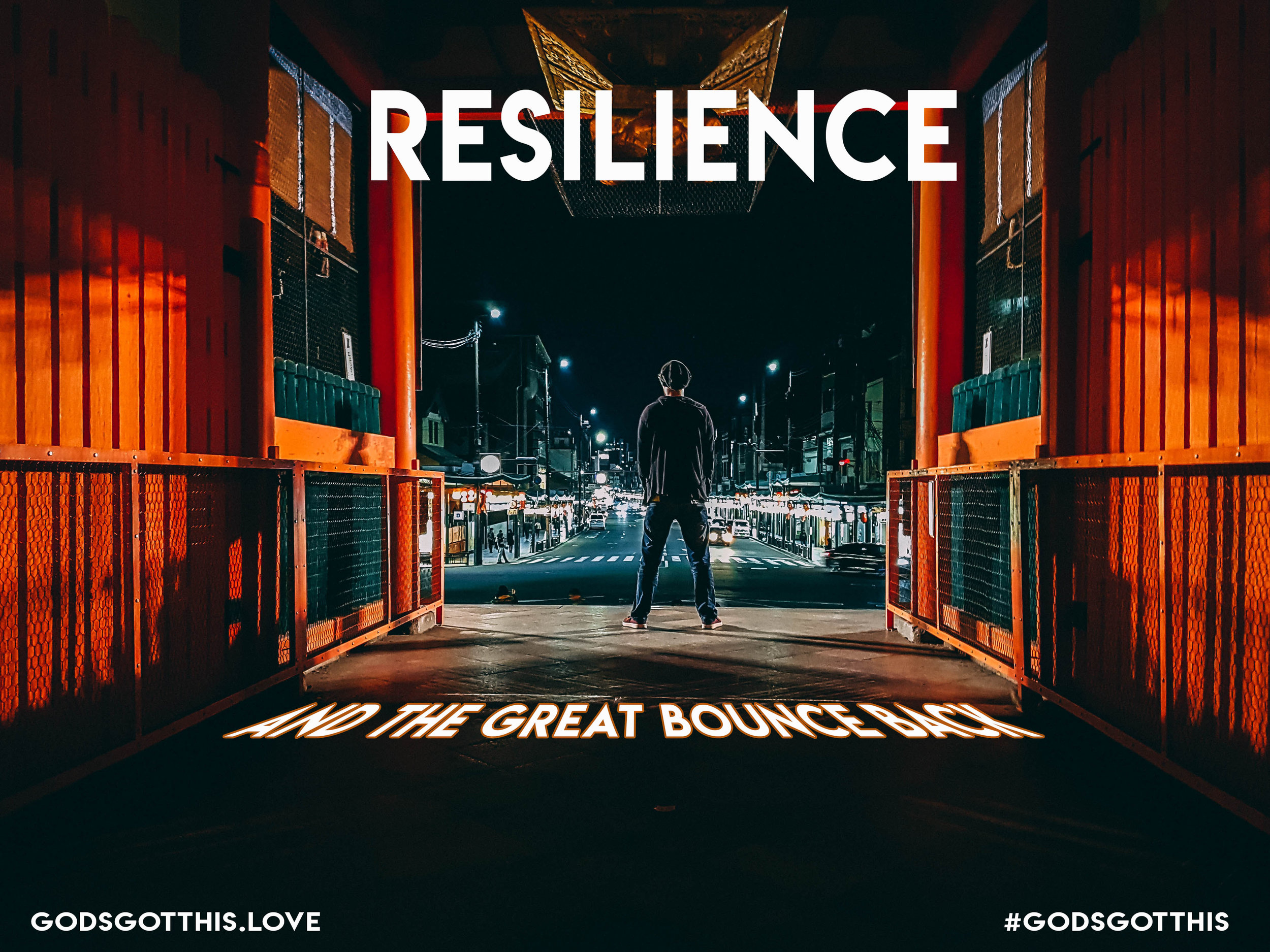 RESILIENCE AND THE GREAT BOUNCE BACK