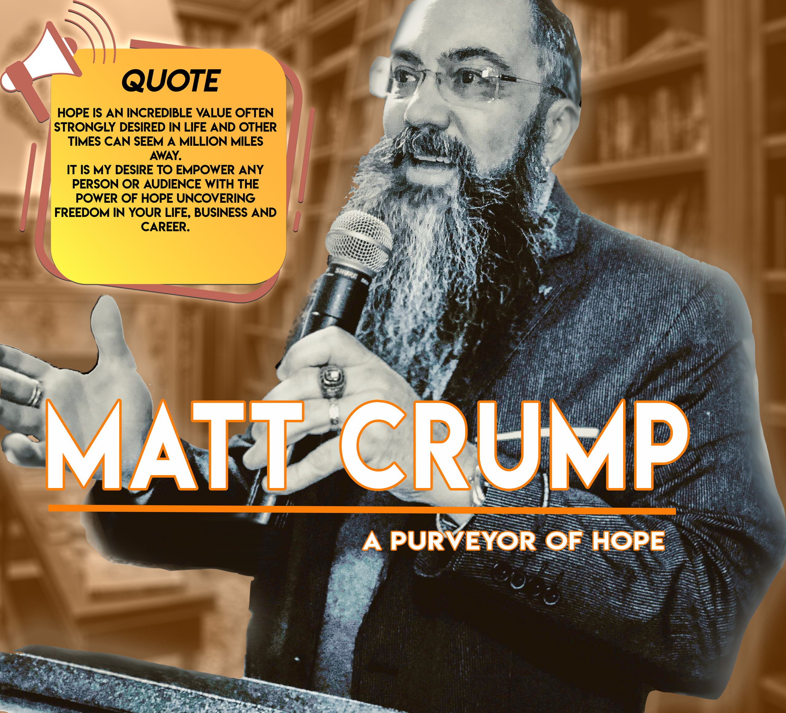 Matt's Speaking Quote