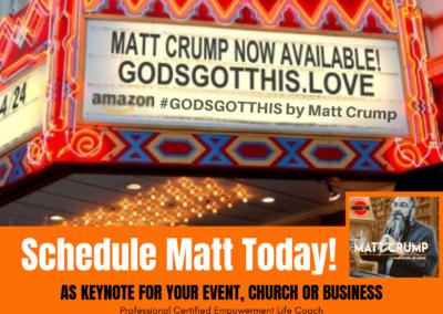 Schedule Matt Today