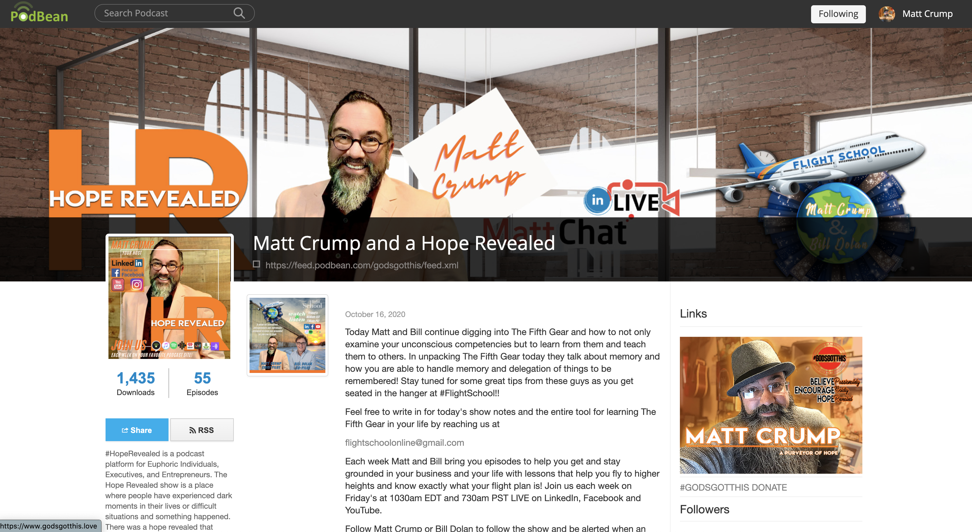 Hope Revealed Home Page