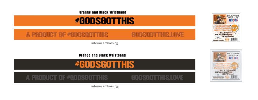#GodsGotThis Bracelet Combo